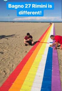 Bagno 27 Rimini 2020 gay friendly portatori handicap